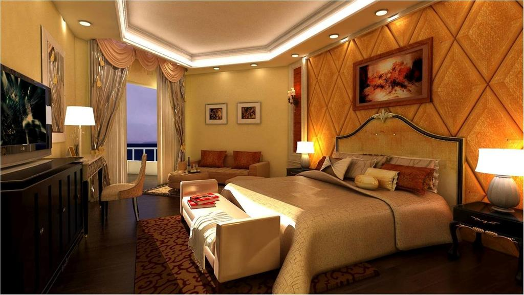 غرف فندق توليب طابا ريزورت اند سبا