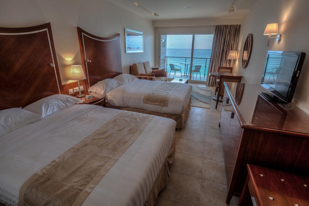 غرف فندق البوسيت بل فيو مرسى مطروح