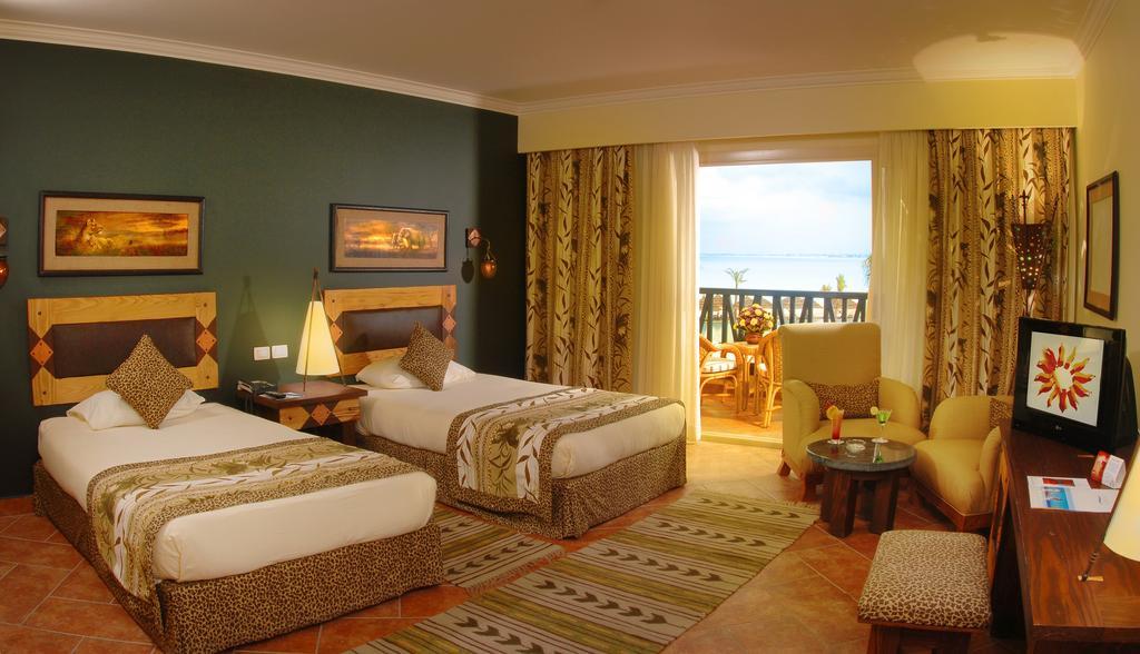 غرف فندق كارولز بوريفاج مطروح
